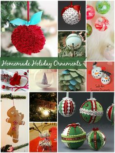12 Homemade Holiday
