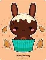 Almond Truffle Bunny by mAi2x-chan