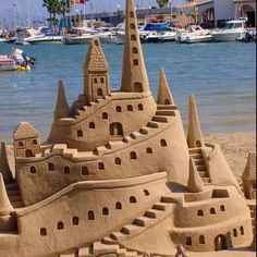 Epic sandcastle!