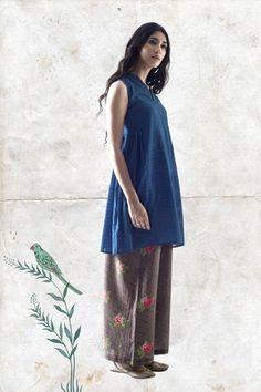 Goodearth - Tamir:Bali Habutai Silk Farshi