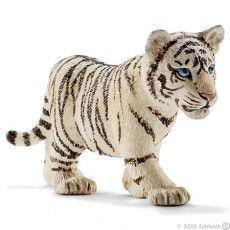 Schleich Tiger Cub, White