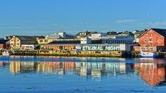 Steve Powers in Vardø, Norway. Steve Powers, Stavanger, Oslo, Dares, Urban Art, Norway, Street Art, Country, City