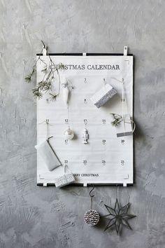 Fabric advent calendar.