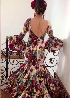 Special Dresses, 15 Dresses, Flamingo Dress, Gypsy Women, Dance Fashion, Church Outfits, Boho Gypsy, Beautiful Outfits, Flamenco Dresses
