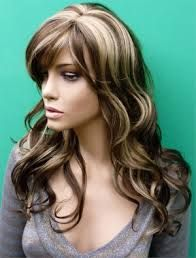 chocolate brown with blonde highlights - Google Search