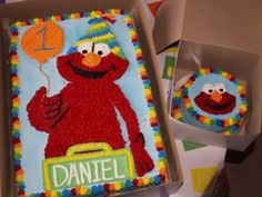 Elmo Cake + Smash Cake Photo:  This Photo was uploaded by nov05mom2daniel. Find other Elmo Cake + Smash Cake pictures and photos or upload your own with ...