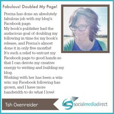 Tsh Oxenreider's fan page DOUBLED and engagement skyrocketed!!