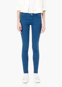 Jean skinny newpaty   MANGO Jeans Pour Femme, Jeggings, Dernières Tendances  De Mode, cab875ae2767