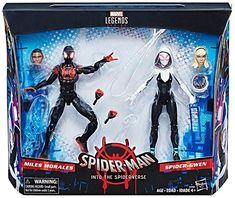 Gwen Spider, Scarlet Spider, Power Rangers Ninja Steel, Star Wars Figurines, Miles Morales, Gwen Stacy, Spider Verse, Toys Photography, Marvel Legends