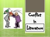A basic overview of the types of conflict in literature. Middle School Ela, Back 2 School, Conflict In Literature, Types Of Conflict, Literary Elements, 6th Grade Ela, Reading Activities, Writing Tips, Writer