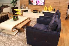 Sala de TV, destaque para a mesa de centro