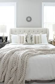 Image result for white bedding with grey accents