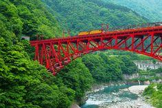 黒部峡谷鉄道,Kurobe Gorge Railway,富山県,Toyama,Japan