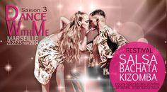 Festival Dance With Me, 3e édition. du 21 au 23 novembre 2014  co organisé par Marseille Danse Academy