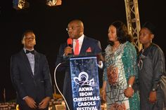 LET OUR KING BE LIFTED HIGH: The Akwa Ibom story is in 2nd Corinthians 4:8-9- Gov Udom Emmanuel #AkCarolsFest2016    AN ADDRESS BY HIS EXCELLENCY MR. UDOM EMMANUEL GOVERNOR AKWA IBOM STATE AT THE AKWA IBOM CHRISTMAS CAROL SATURDAY DECEMBER 17 2016  UYO TOWNSHIP STADIUM UYO AKWA IBOM STATE Good evening great Akwaibomites good evening Nigeria Good evening Africa and good evening the world. I come to you tonight from the deep bowels of our beautiful and exotic city of Uyo- the capital of…