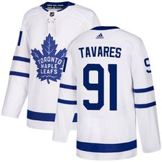 Adidas Maple Leafs  91 John Tavares White Road Authentic Stitched NHL Jersey  Nhl Jerseys f81acf558