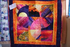 Interesting quilt from Tombstone, AZ quilt show.