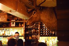 Le bar du Breakfast Club Voyage à Londres www.fere.fr