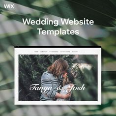 Each of these templates comes with built-in features to help you prepare for your happily ever after, including an RSVP widget, a Google Maps app to pinpoint your venue and links to your gift registry.
