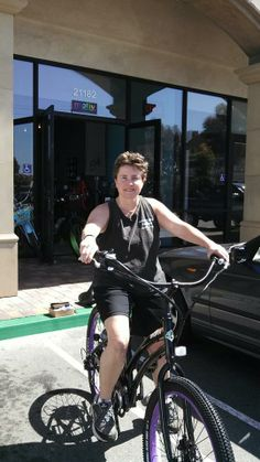Trish's motiv is to get outside and enjoy the great weather in Huntington Beach!