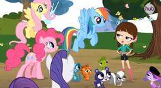 Coolest crossover? - Littlest Pet Shop and My Little Pony - Fanpop