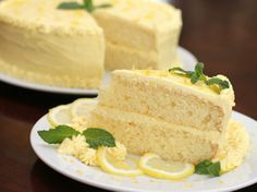 Blogger Arlene Cummings of Cooking With Sugar takes the great taste of lemonade and turns it into a luscious cake that everyone will love. It's a simple but pretty dessert that complements any meal.