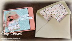 Sale-a-bration 2014, Envelope Punch Board, Decorative Dots, Sweet Sorbet, Scallop Tag Topper Punch  Tiny Kiwi Cards