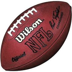 under armour 695 football. footballs 21220: wilson official nfl game football 1993-2005- paul tagliabue signature buy under armour 695