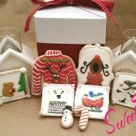 The perfect package - sweetthingsbywendy.ca Edible Favors, Party Favours, Joy To The World, Time Of The Year, Gift Wrapping, Cookies, Sweet, Gift Wrapping Paper, Crack Crackers