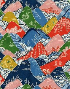 Mountainous pattern