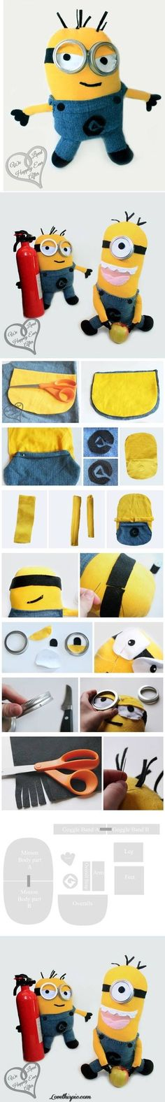 DIY Despicable Me Dolls Pictures, Photos, and Images for Facebook, Tumblr, Pinterest, and Twitter