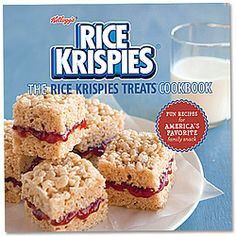 Rice Krispies fun snack cookbook provides full-color photos and step-by-step instructions for creating 40 no-bake variations of the original 1940s recipe.