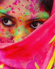 Holi Pictures, Holi Images, Holi Festival Of Colours, Holi Colors, Holi Girls, Holi Photo, Holi Special, Attractive Eyes, Photos Of Eyes