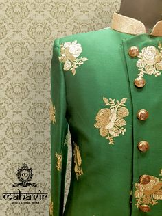 Ultra-Classy look with a touch of sophistication , get this traditional sherwani only at Mahavir Collections. Visit our store in Chandni Chowk Now! . . . #mahavircollections #mensethnicwear #indianwedding #sherwani #shopnow #WeddingWear #traditional #kurtapajama #groom #weddings #indianwear #fabrics #weddingfun #festivalfashion #chandnichowk