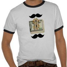 Dads Mustache Cash Ringer Tee