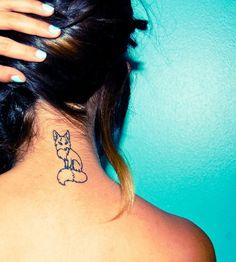 Funny Fox Tattoos  (3)