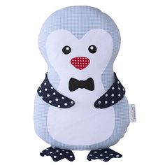 AKASCHA   Kuscheltier Pinguin Blau Willi