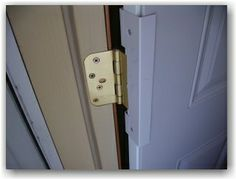 The Door Sentinel.  This an extremely strong device that protects against your door being kicked in.  One part goes around your locks/deadbolts, and the other goes around the hinges, offering better protection against intruders.  If you haven't already thought about reinforcing your entry/exit ways, think about it.  Think about the Door Sentinel.