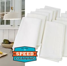 Save yourself money and time with our reusable, cotton cleaning cloths! You can use these to wipe AND dry, over and over again. They last a long time and outdo paper towels, any day! Purchase a of these lint-free cleaning cloths by clicking the photo! Speed Cleaning, Cleaning Hacks, Cleaning Supplies, Cleaning Cloths, Clutter Control, Paper Towels, Pet Safe, Clean Living, Save Your Money