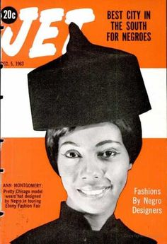 The weekly source of African American political and entertainment news. Jet Magazine, Black Magazine, Ebony Magazine Cover, Magazine Covers, Vintage Hats, Vintage Black, Black Hair History, Black History Month Quotes, Essence Magazine