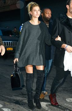 Consigue el 'look' de... Hailey Baldwin #holafashion