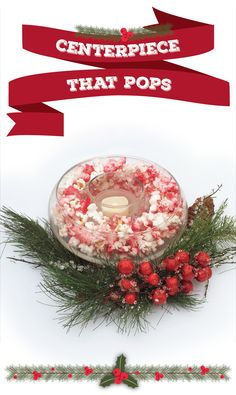 6 holiday decorations that really pop | easy DIY popcorn decorations | This holiday season, pull that extra bag of popcorn out of your pantry and transform your kernels into easy holiday decorations!