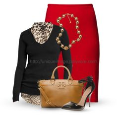 Have to incorporate leopard somehow...this is perfect!