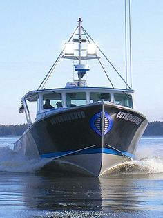 build by me in boricua custom boats in downeast Maine ...46 mussel Ridge..lobter fishing boat