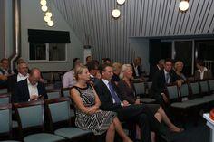 Aansluitend aan het diner was de nazit geopend voor alle geinteresseerden. Op de foto: samen met Halbe Zijlstra en Chantal Nijkerken-De Haan.
