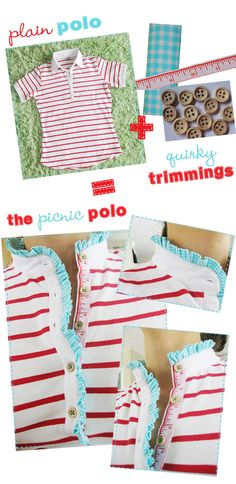 polkadots and puppies: DIY Picnic Polo