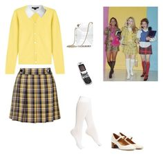 """Clueless inspired"" by zfunch ❤ liked on Polyvore featuring Topshop, Opening Ceremony, DKNY, Isabel Marant, Motorola, Chanel, Lucien Pellat-Finet and Alexander Wang"