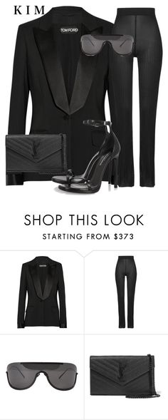 """""""Untitled #2729"""" by whokd ❤ liked on Polyvore featuring moda, Tom Ford, Balmain, Yves Saint Laurent, women's clothing, women, female, woman, misses y juniors"""