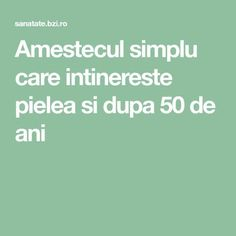 Amestecul simplu care intinereste pielea si dupa 50 de ani Beaded Cross Stitch, Cross Stitch Charts, Microbiology, Good To Know, Gym Workouts, Health Tips, Health Fitness, Hair Beauty, Teas