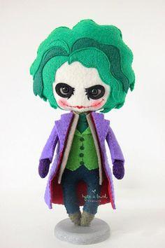 @Joker @Doll DC comics @Joker @Felt Doll Joker Dark Knight